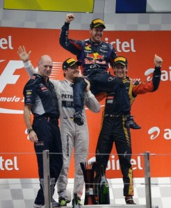 podio India 2013