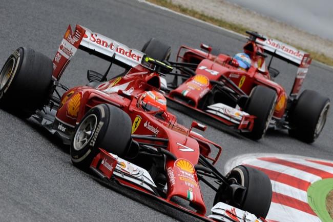 Raikkonen y Alonso