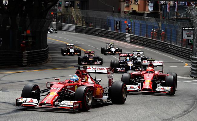 Fernando Alonso Kimi Räikkönen 2014 Mónaco