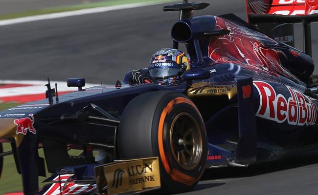 Carlos Sainz Jr Toro Rosso 2013 Silverstone