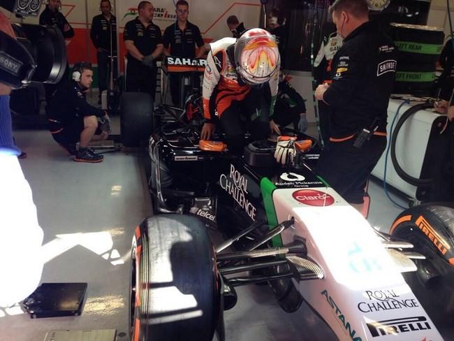 Dani Juncadella Force India 2014