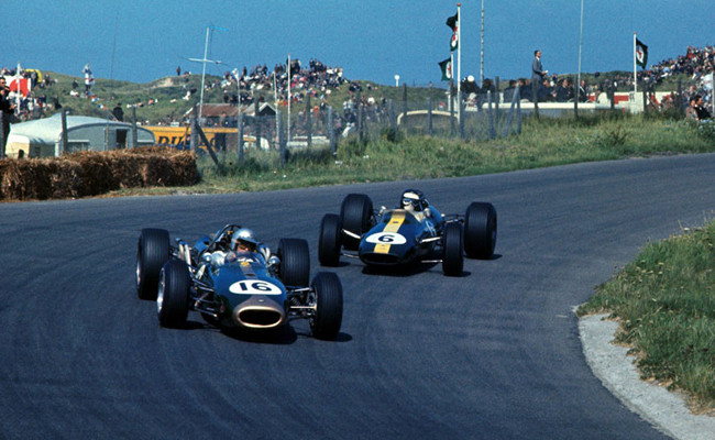 Jack Brabham 1966 Zandvoort