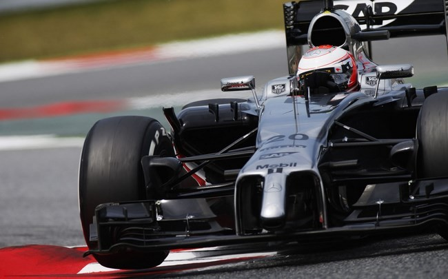 Jenson Button McLaren 2014 Barcelona
