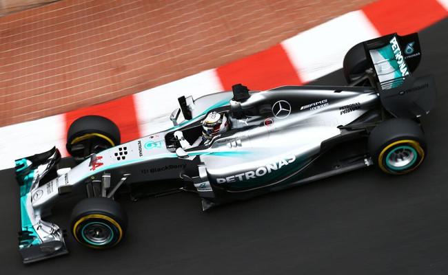 Lewis Hamilton Mónaco 2014 FP1
