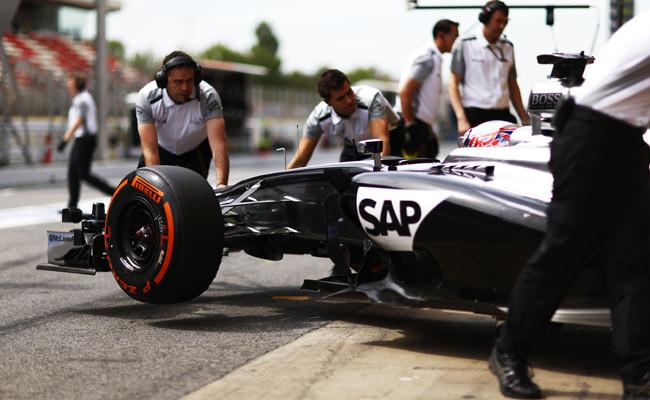 McLaren Barcelona 2014 Jenson Button