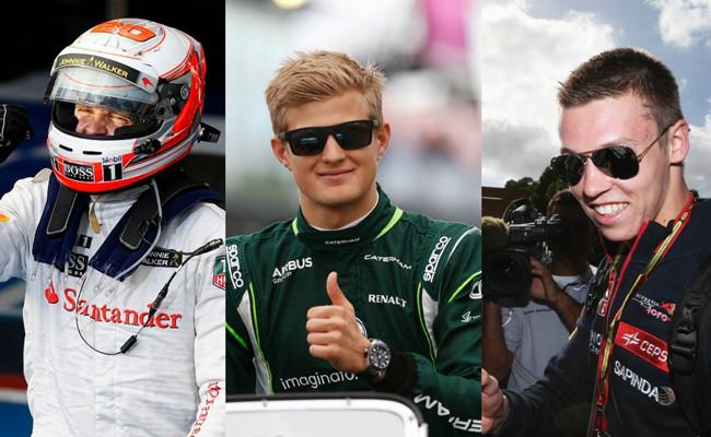 Novatos F1 2014