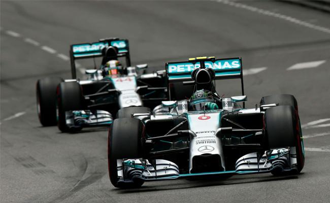 Nico Rosberg, Lewis Hamilton, Mónaco 2014