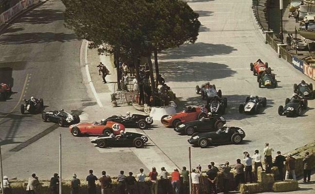 Salida GP Mónaco 1959