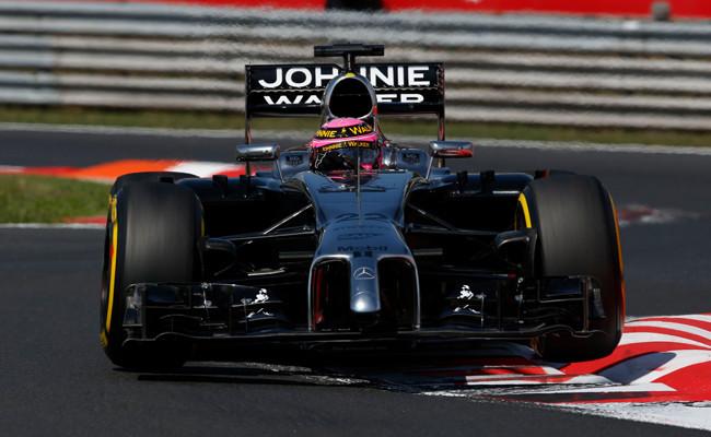 Jenson Button 2014 Hungaroring