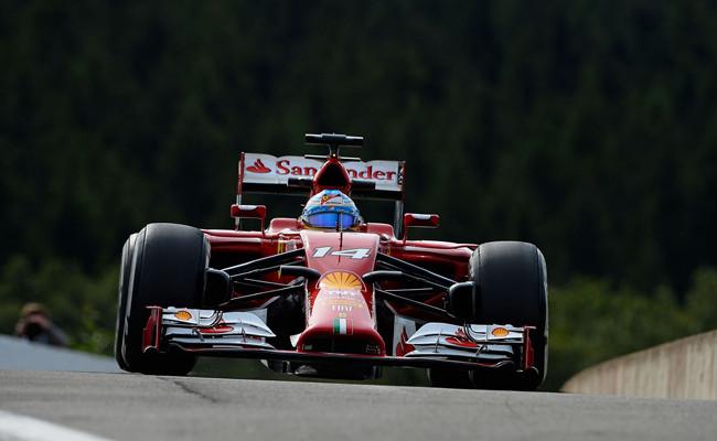 Fernando Alonso 2014 F1 Spa