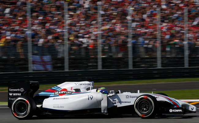 Felipe Massa Williams Monza 2014