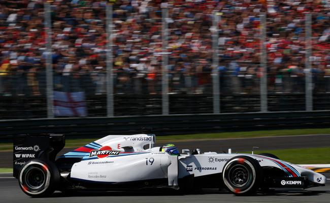 Felipe Massa Williams Monza 2014