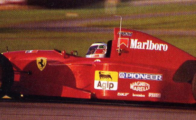 Gianni Morbidelli Ferrari 412 T2 Fiorano Test 1995