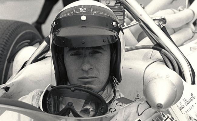 Jackie Stewart Cockpit