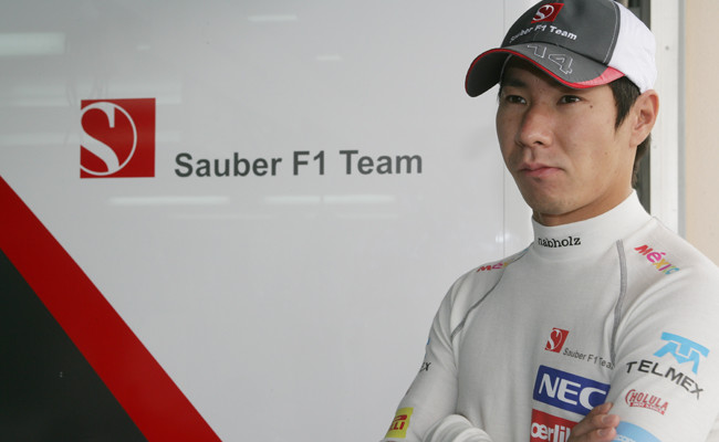 Kamui Kobayashi 2012 Sauber