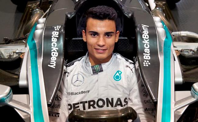 Pascal Wehrlein Mercedes F1