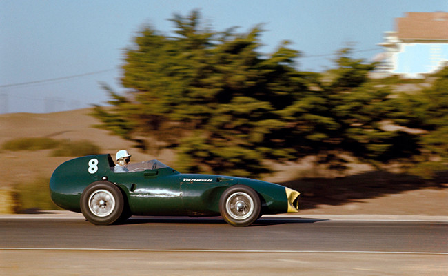 Stirling Moss GP Marruecos 1958