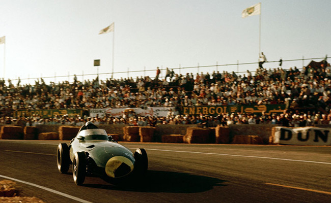 Stirling Moss GP Marruecos 1958
