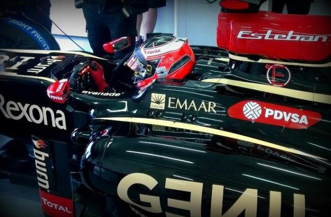 Esteban Ocón Lotus Test 2014 Cheste