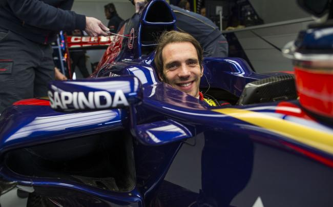 Jean-Eric Vergne 2014 Toro Rosso