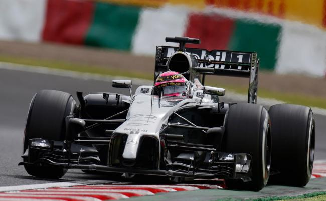 Jenson Button 2014 Suzuka