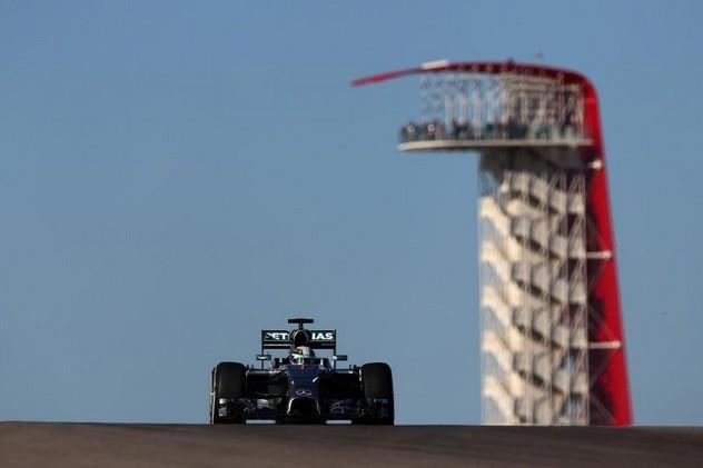 Lewis Hamilton Austin 2014