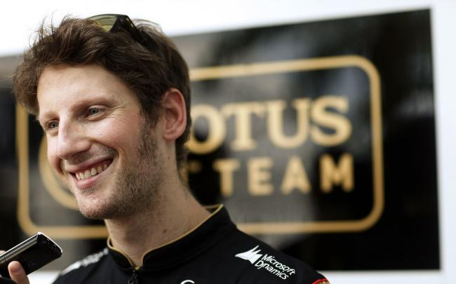 Romain Grosjean Lotus 2014