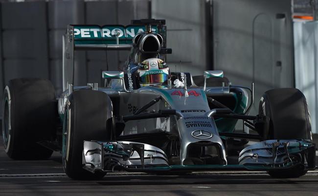 Lewis Hamilton 2014 GP Rusia
