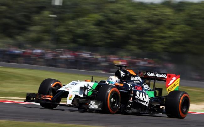 Dani Juncadella Silverstone FP1 2014