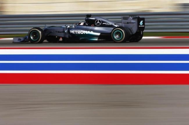 Lewis Hamilton Austin FP