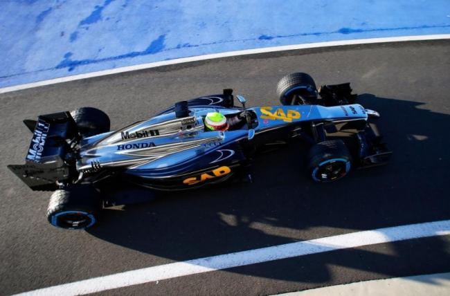 McLaren-Honda, Oliver Turvey, Test 2014