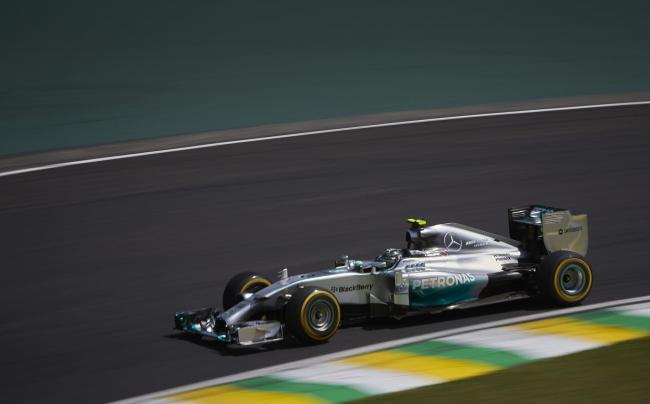 Nico Rosberg Interlagos 2014