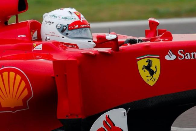 Sebastian Vettel Ferrari F2012 Fiorano Test