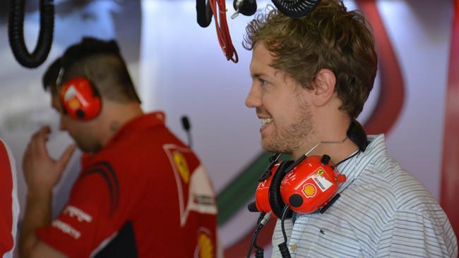 Vettel Ferrari 1