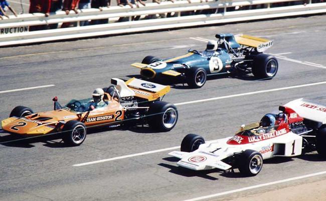 F1 sudafricana salida Kyalami