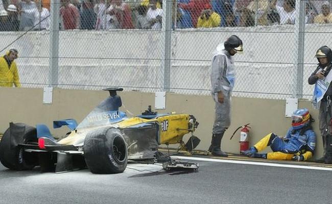 Fernando Alonso GP Brasil 2003