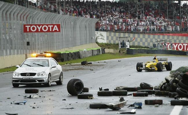 Giancarlo Fisichella GP Brasil 2003