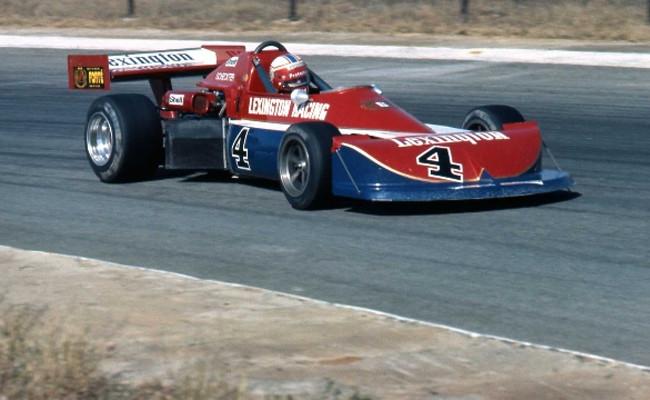 Ian Scheckter Fórmula Atlantic Sudafricana