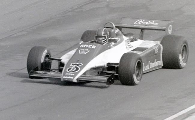 Jim Crawford - Fórmula 1 británica 1982