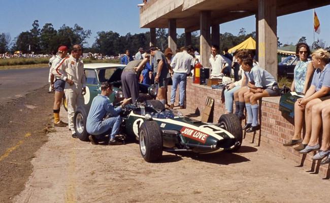 John Love F1 Sudafricana