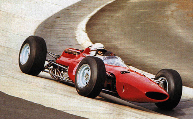 John Surtees Ferrari 158 GP Alemania 1964