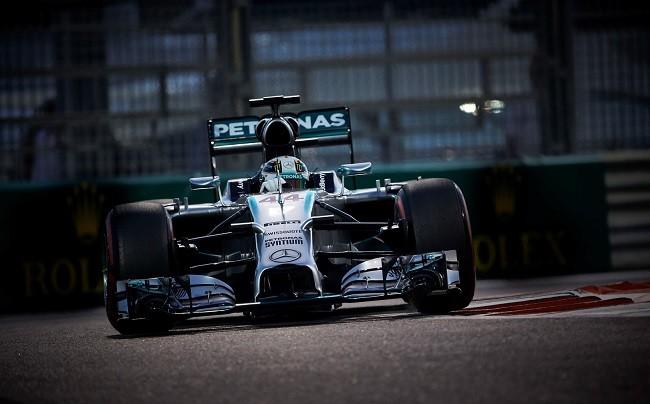 Lewis Hamilton 2014 Abu Dabi