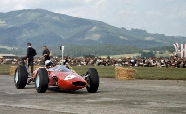 Lorenzo Bandini Ferrari 156 GP Austria 1964
