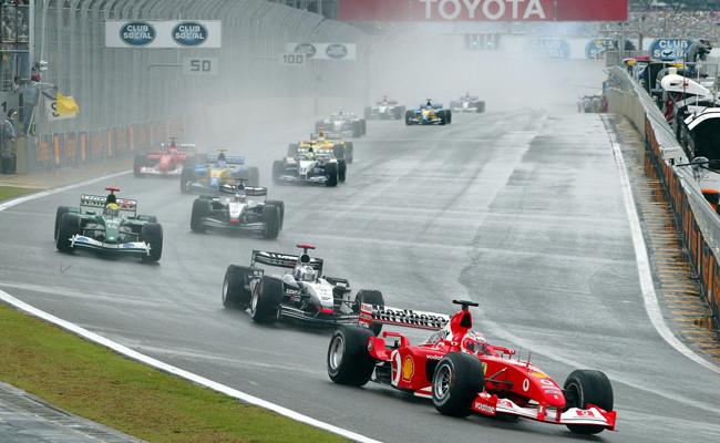 Salida GP Brasil 2003
