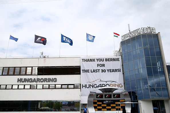 xxxx during the Formula One Grand Prix of Hungary at Hungaroring on July 26, 2015 in Budapest, Hungary.