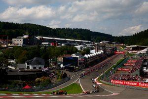 Gran espectáculo en Spa-Francorchamps