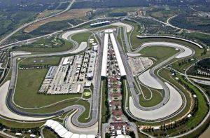 El Circuito de Sepang, previo al Gran Premio de Malasia