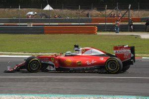 Sebastian Vettel se disculpó con Rosberg por el incidente de la salida