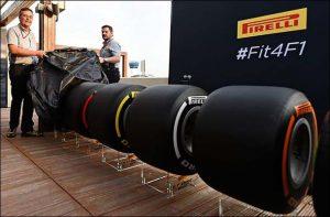 Pirelli muestra los neumáticos para la temporada 2017