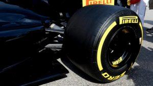 Neumáticos Pirelli 2017 más anchos